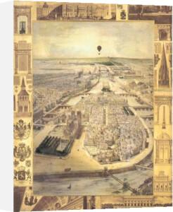 Carte de Paris I by Susan Gillette