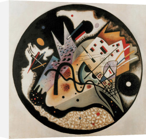 In the Black Circle, 1923 by Wassily Kandinsky