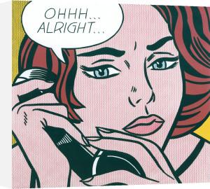 Ohh...Alright... by Roy Lichtenstein