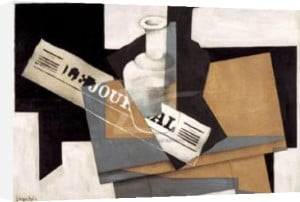 Le Journal, 1916 by Juan Gris