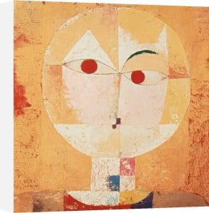 Senecio (Old man) 1922 by Paul Klee