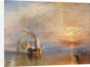 Fighting Temeraire by Joseph Mallord William Turner
