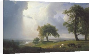 California Spring, 1875 by Albert Bierstadt
