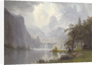 In the Mountains, 1867 by Albert Bierstadt