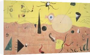 The Hunter by Joan Miro