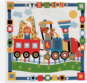 Train by Cheryl Piperberg