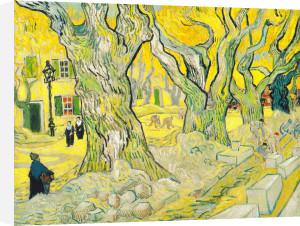 The Road Menders, 1889 by Vincent Van Gogh