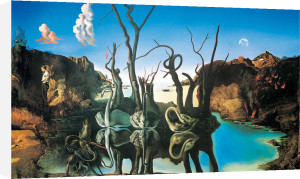 Swans Reflecting Elephants, 1937 by Salvador Dali