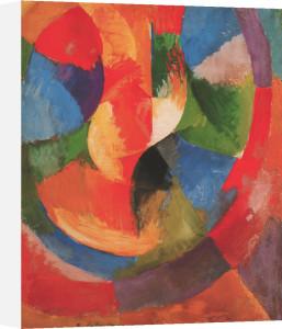 Formes Circulaires-Soleil No 3 by Robert Delaunay