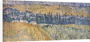 Rain at Auvers by Vincent Van Gogh