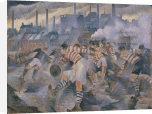 Any Wintry Afternoon in England by C.R.W. Nevinson