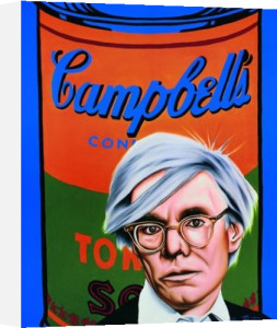 Hommage to Andy Warhol by Alan Bortman