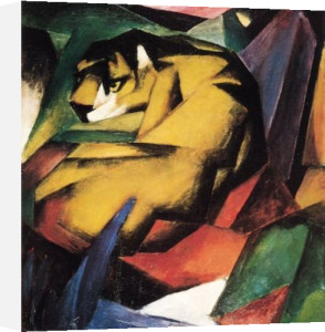 Der Tiger by Franz Marc