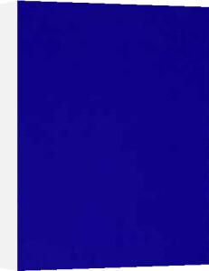 Bleu Monochrome, IKB 73, 1961 by Yves Klein
