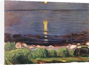 Sommernacht am Strand by Edvard Munch
