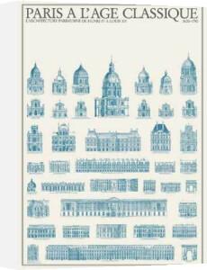 Paris - Paris à làge classique by Architekturplakate