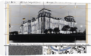 Reichstag XXIV by Javacheff Christo