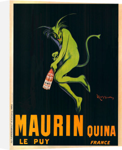 Maurin Quina, 1920 by Leonetto Cappiello