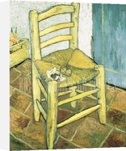 Chair and Pipe by Vincent Van Gogh