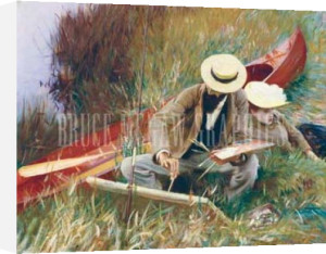 An Out-of-Doors Study (formerly known as Paul Hell) by John Singer Sargent