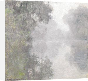 The Seine at Giverny, Morning Mists, 1897 by Claude Monet
