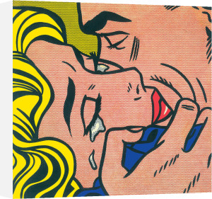 Kiss V by Roy Lichtenstein