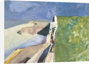Seawall, 1957 by Richard Diebenkorn