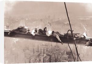 Rockefeller Center, 1932 (Resting on a Girder) by Charles C. Ebbets