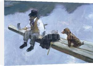 The Fisherman by Jean-Louis Forain