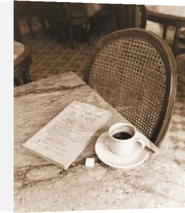 Cafe Noir, Paris by Alan Klug
