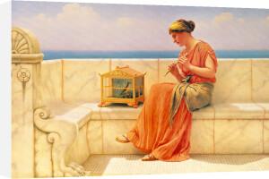 Sweet Sounds, 1918 by John William Godward