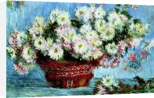 Chrysanthemums, 1878 by Claude Monet