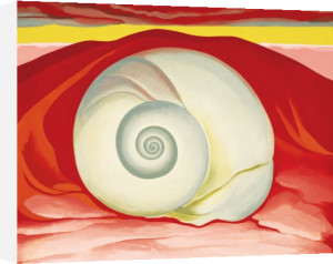 Red Hills with White Shell, 1938 by Georgia O'Keeffe