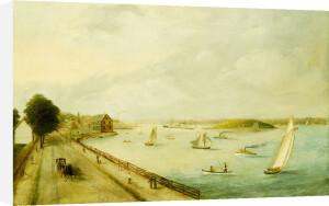 New York Harbor, 1890 by American School