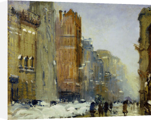 Fifth Avenue, New York by Arthur Clifton Goodwin