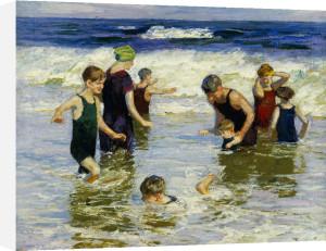 The Bathers by Edward Henry Potthast