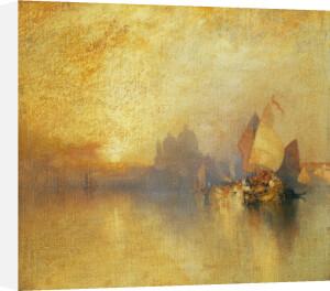Opalescent Venice by Thomas Moran