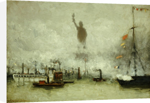 The Statue Of Liberty by Francis Hopkinson Smith