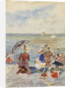 Figures On The Beach by Maurice Prendergast