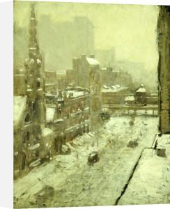 Winter In The City by Paul Cornoyer