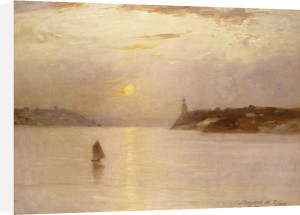 Sailing On The Hudson, 1906 by Bayard Henry Tyler