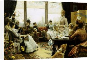 Five O'clock Tea, 1883 by Julius Leblanc Stewart