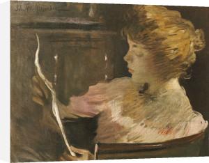 Jesse Steele Reading by John White Alexander