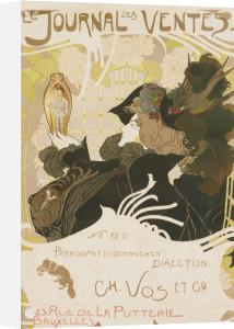 Le Journal Des Ventes', 1897 by Georges de Feure