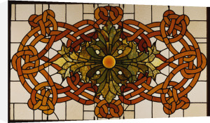 A Leaded Glass Skylight Panel For The Theatre Of The Auditorium Building, Chicago, Circa 1890. by Christie's Images