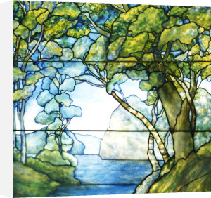 Landscape Window by Tiffany Studios