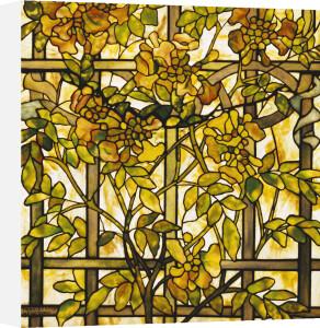 Trumpet Vine Window by Tiffany Studios