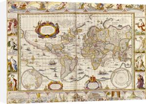 World Map, Novus Atlas, 1649 by Christie's Images