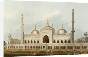 Mosque At Lucknow, 1809. by Henry Salt