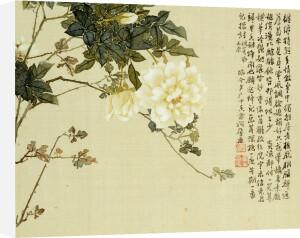 Flowers. From An Album Of Ten Leaves by Ju Lian